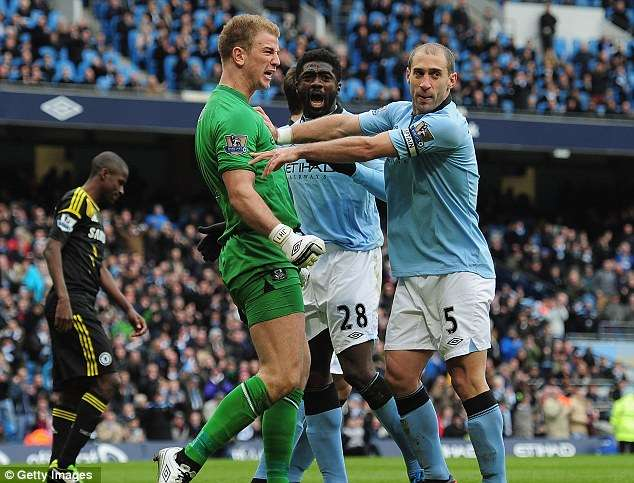 'Bring it on, we are ready' – England No.1 Joe Hart leads the Manchester City battle cry