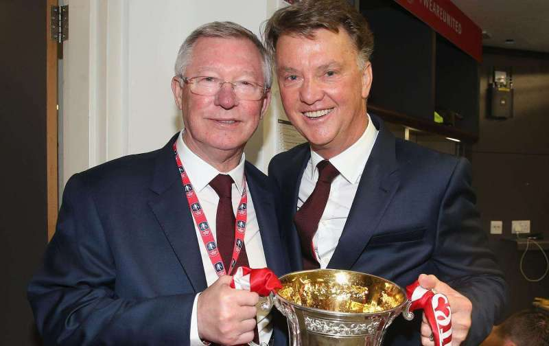 Louis Van Gaal is proud to have managed 'such a magnificent club as Manchester United'
