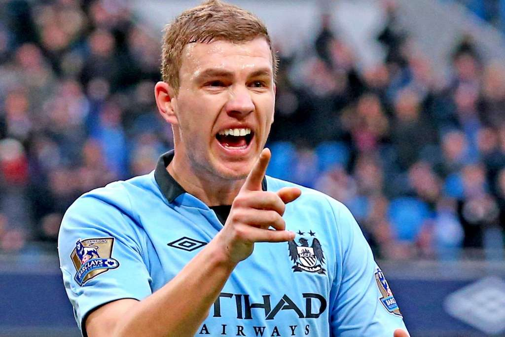 Dzeko Left Out And Ready To Leave Man City