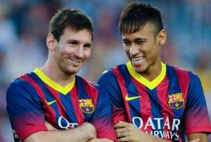 Barcelona, Messi and Neymar get away with yet another offence.