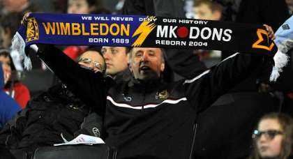 Are the Milton Keynes Dons still a controversial club?