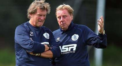 Me, Glenn Hoddle and Stuart Pearce would have been England's dream team: Harry Redknapp