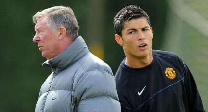 Sir Alex drove Cristiano Ronaldo to tears at Manchester United