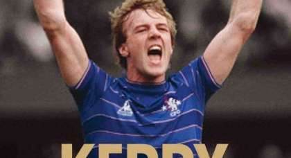 Kerry Dixon film is on the way – an excellent player and a wonderful striker: Glenn Hoddle