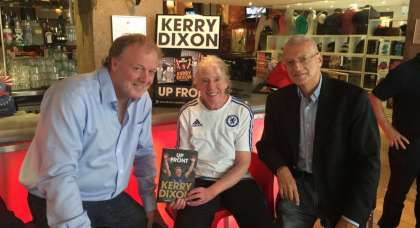 Chelsea legend Kerry Dixon is getting his life back on track – as you will see in 'world class film'