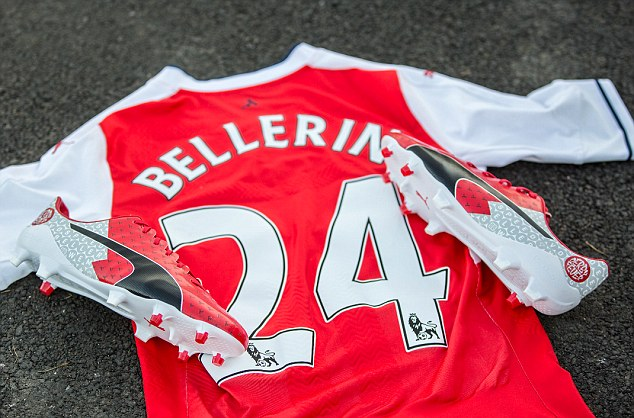 the latest 3d273 611ef Cesc Fabregas and Hector Bellerin will be putting their best ...