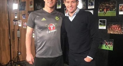 Steven Gerrard and John Terry: England colleagues – club rivals: that will never change