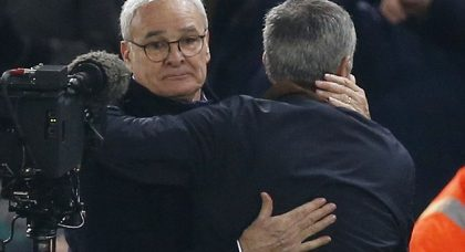 Don't look back in anger: Jose Mourinho leads tributes to Claudio Ranieri as social media goes mad