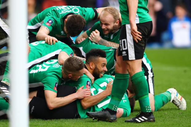 Sutton v Lincoln in the quarter finals? FA Cup history in the making? Aah, the magic of the cup!