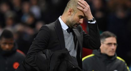 We will learn from this experience and improve, vows Manchester City boss Pep Guardiola