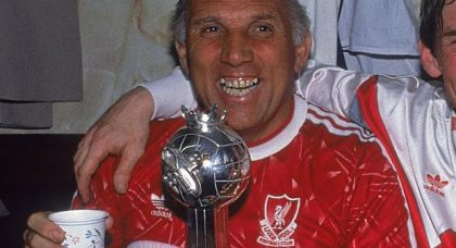 Ronnie Moran: tributes galore to a true Liverpool legend – his career captured in our photo gallery