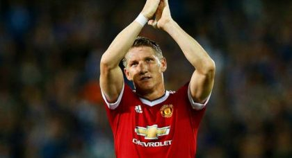 Manchester United did not treat Bastian Schweinsteiger with the respect he deserved – the fans did though
