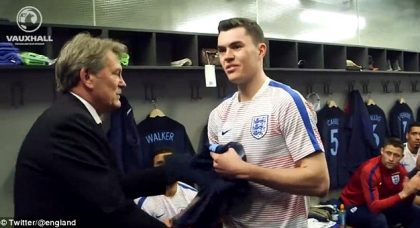 The international stage looks tailor-made for Michael Keane: an England star in the making
