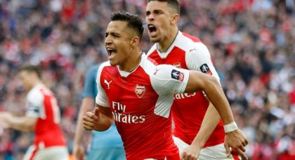 Alexis Sanchez wins the battle of the South American superstars as Arsene reaches another final