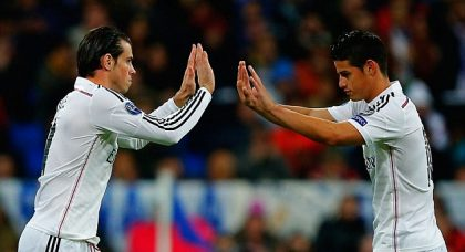 Manchester United are confident of landing James Rodriguez – not sure about Gareth Bale though