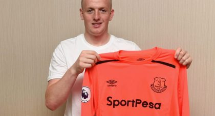 New Everton signing Jordan Pickford has some big gloves to fill – but he is more than capable