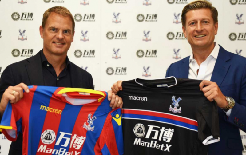Ten things you need to know about new Crystal Palace boss Frank de Boer