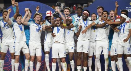 Glenn Hoddle pays tribute to England's young lions – champions of the world
