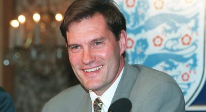 Glenn Hoddle's record as England manager is up there with the best – only Fabio Capello has done better since Sir Alf