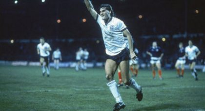 The night I conquered the Scots with a diving header: Glenn Hoddle exclusive!