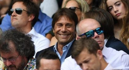 Antonio Conte and his Chelsea players enjoy a day out at Wimbledon