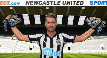Newcastle boss Rafa Benitez believes he has signed a real gem in Florian Lejeune