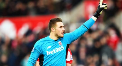 Jack Butland and Jese Rodriguez put a smile on Stoke manager Mark Hughes' face