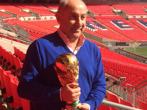 Join Spurs legend Ossie Ardiles to watch England v Spain